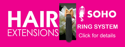 ring hair extension banner