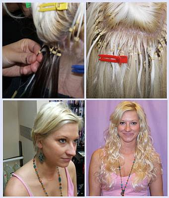 Hair Extension Services full