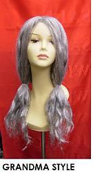 wig hire GRANDMA STYLE