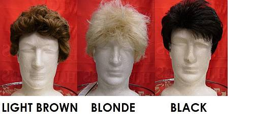 wig hire for men