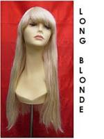 wig hire LONG BLONDE